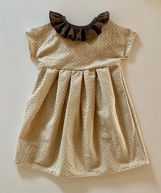Fua Dress - Beige