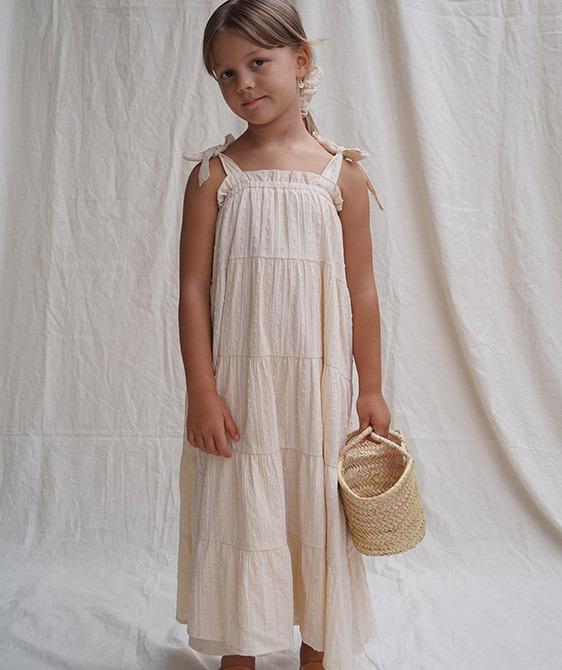 Sonnet Dress - Perle Broderie