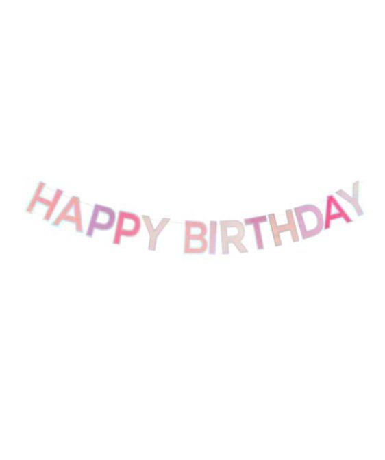 Magical Birthday Garland - Pink & Purple