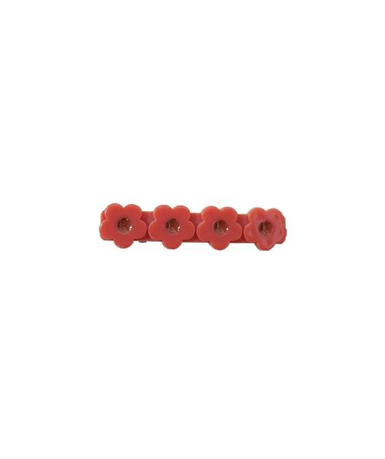 Flower Clip - Poppy // no.6