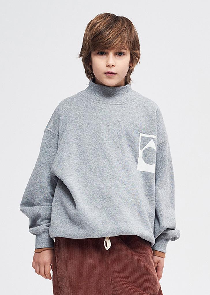 Funnel Sweatshirt - Grey Marl