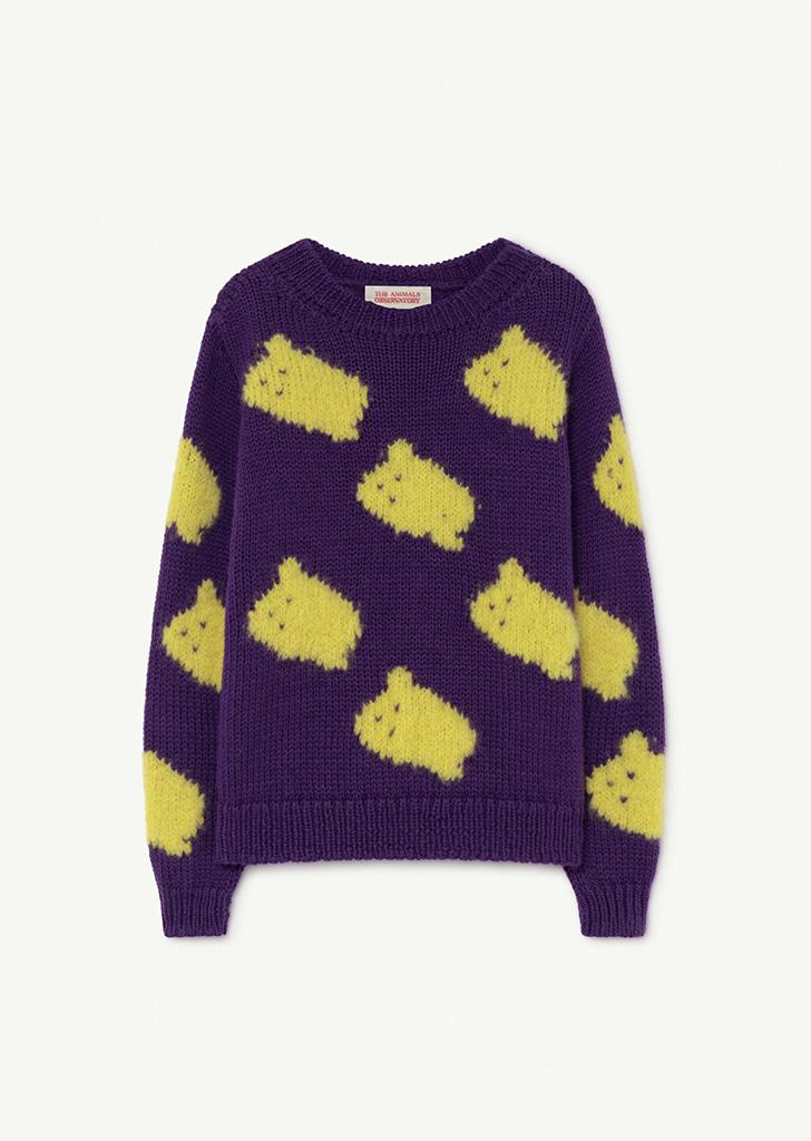Purple Arty Bull Kids Sweater - F21083_120_XX