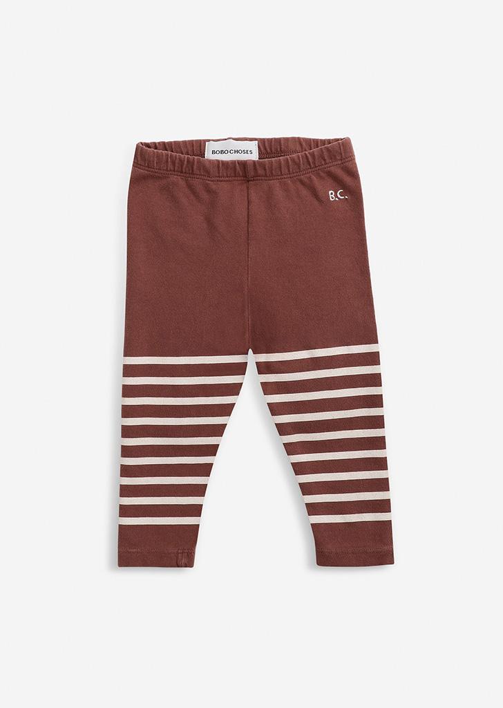 Stripped leggings(Baby) #221AB016