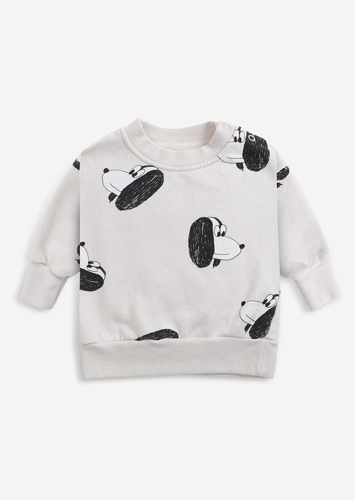 Doggie All Over sweatshirt(Baby) #221AB031