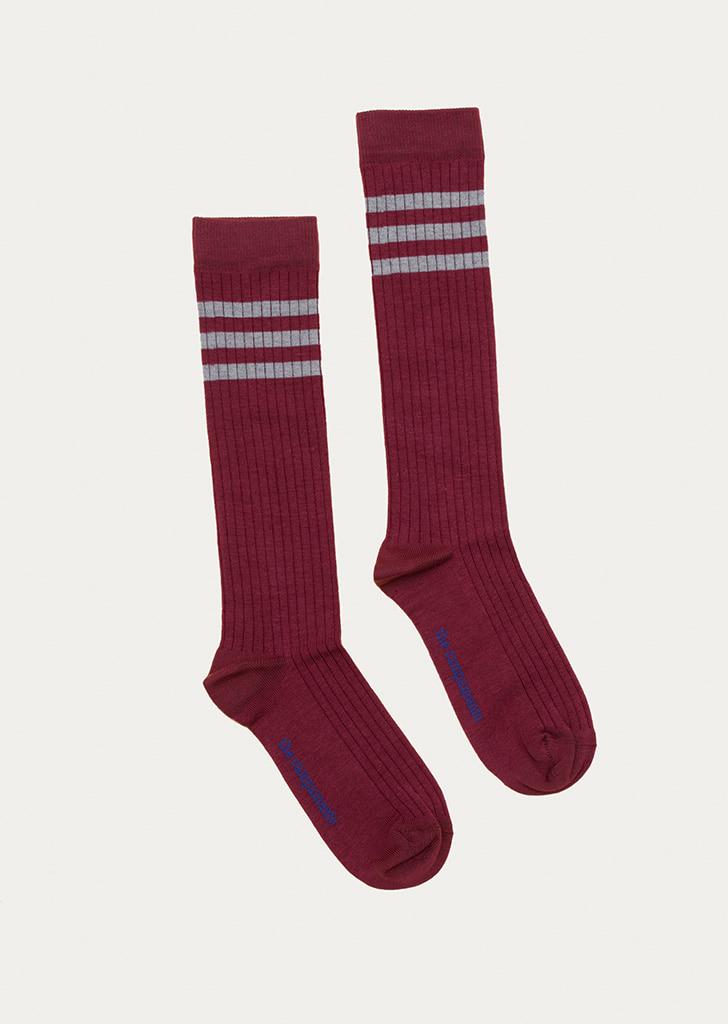 Socks(TC-AW21-64) - Burgundy