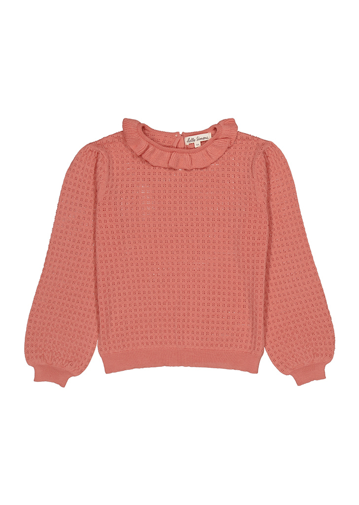 Cassidy Knit Sweater (AW21-CASSROS) - Rose