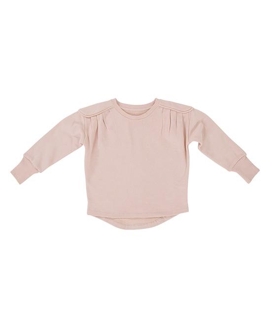 Eliza Crew Sweatshirt - Dusty Pink