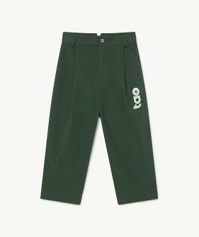 Emu Kids Trousers - Deep Green Tao  (F21120)