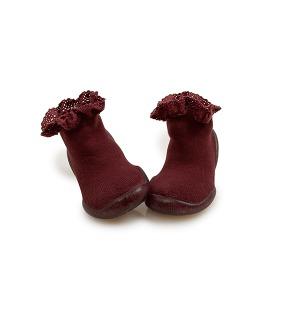 Mademoiselle Slipper-Socks - 156_123 #778 Chataigne