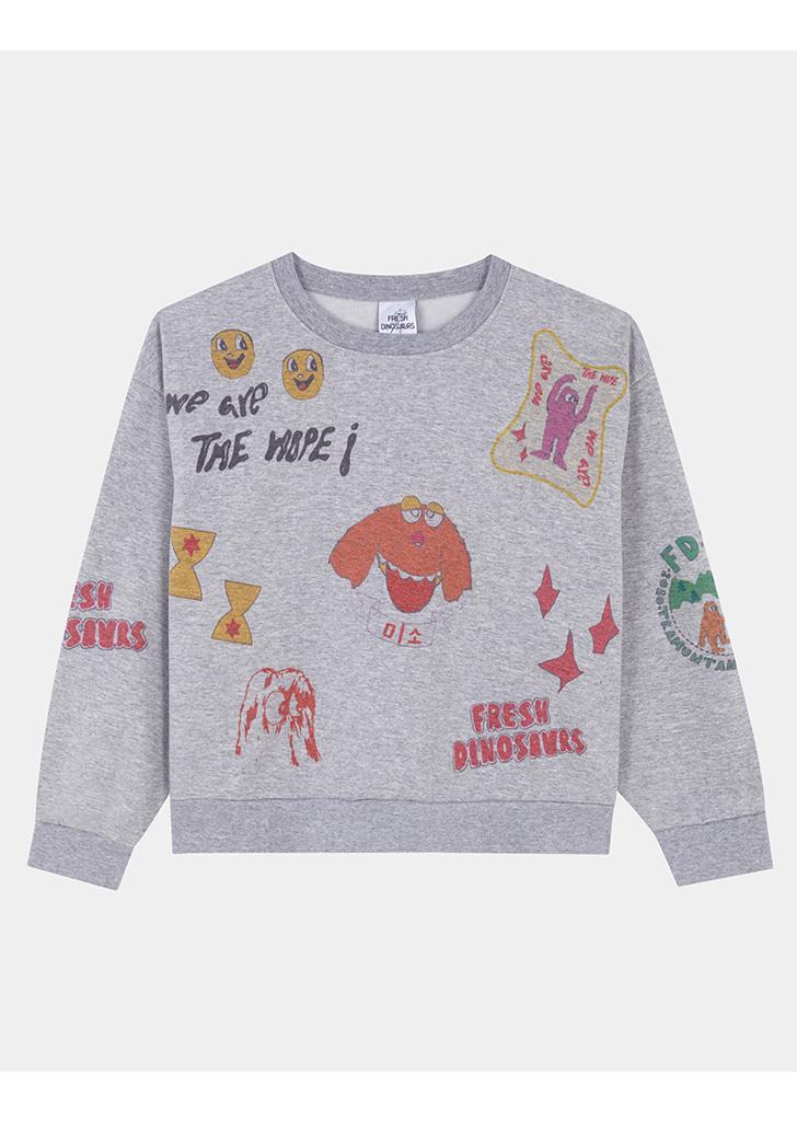 Mix Sweatshirt (F-425)