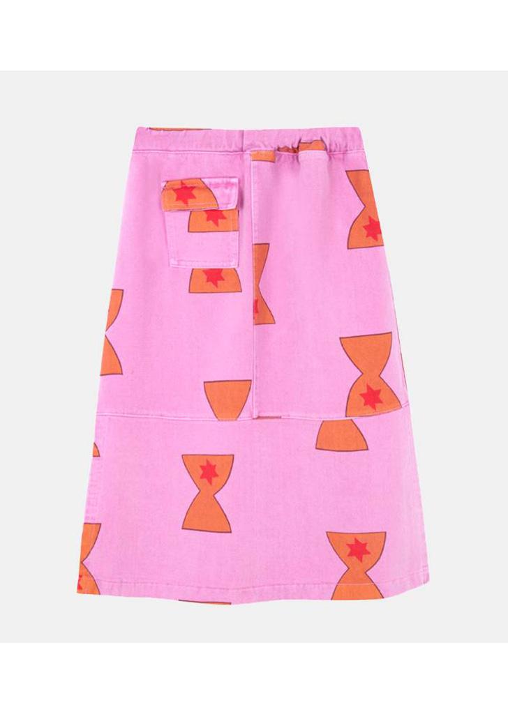 Cup Denim Skirt (F-446)