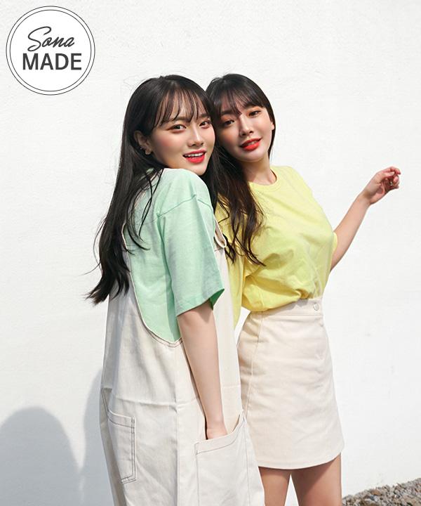 2019아이스크림_무지박시반팔 (13colors!)