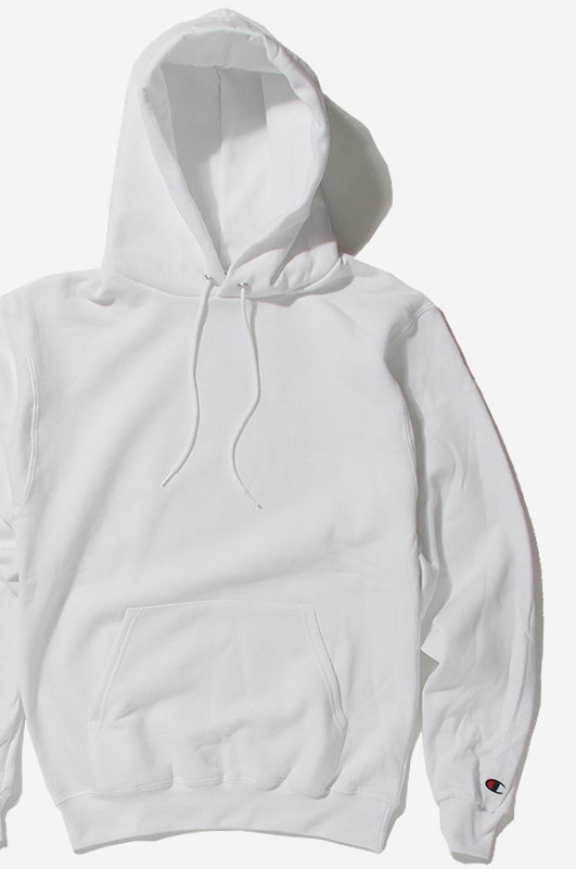 CHAMPION 50/50 Pullover Hoodie White