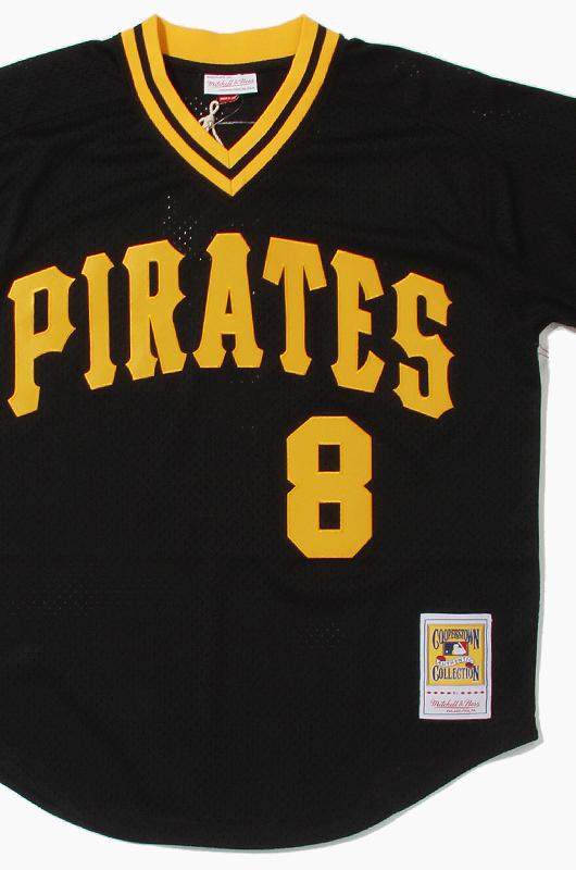 M&N Mesh BP Jersey Pirates