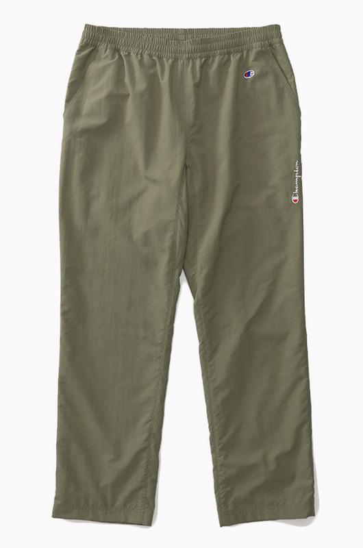 CHAMPION (JAPAN) Nylon Long Pants(C3-M208) Olive