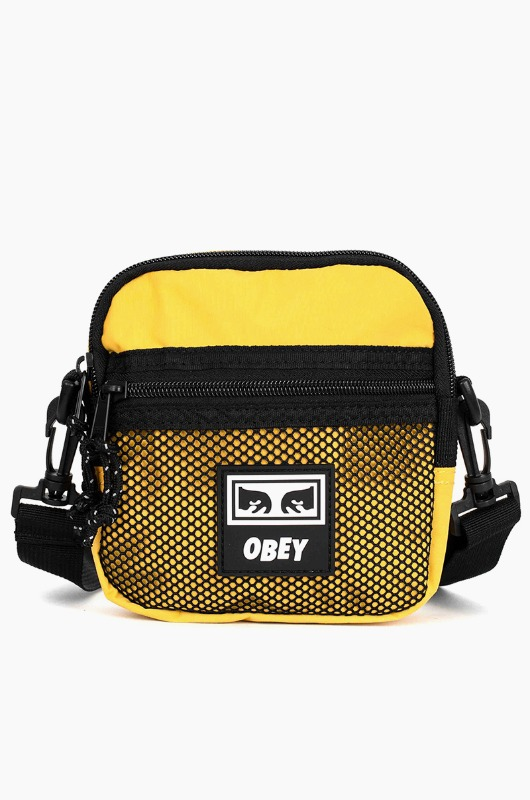 OBEY Conditions Traveler Bag Energy Yellow