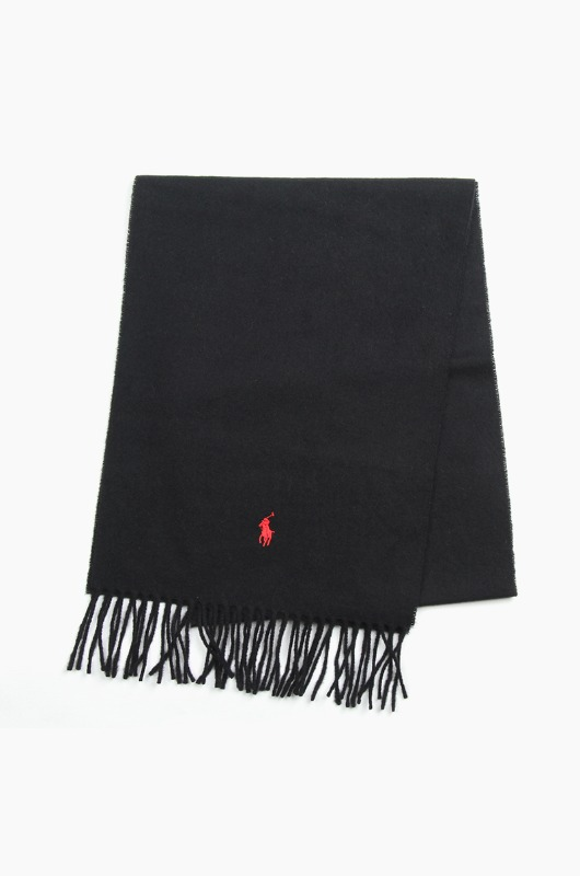 POLO Recycled Wool Scarf Black