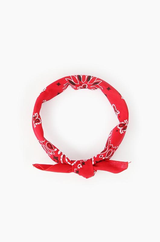 HAV A HANKTraditional Paisleys Bandana Red