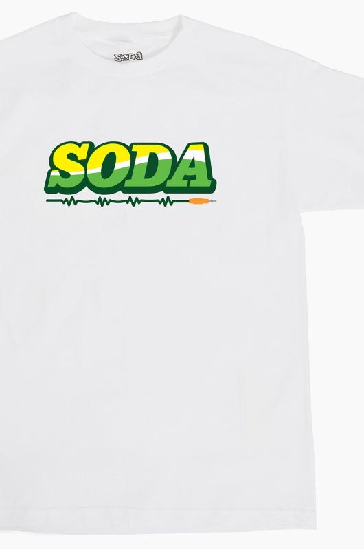DJ SODA Stereo 2 Soda S/S White