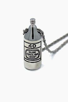 HAN CHOLO 40oz Necklace Silver Brass