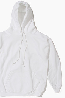 AAA Pullover Hoodie White