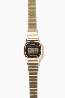 CASIO LA670WGA-1 Gold/Black(여성용)