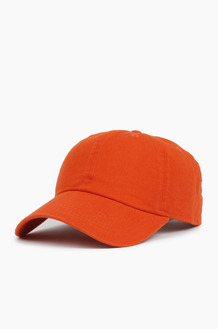 NEWHATTAN Cotton Ballcap Orange
