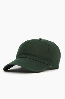 NEWHATTAN Cotton Ballcap Dk.Green