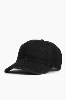NEWHATTAN Denim Ballcap Black