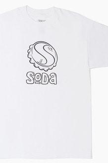 DJ SODA Basic Logo s/s White