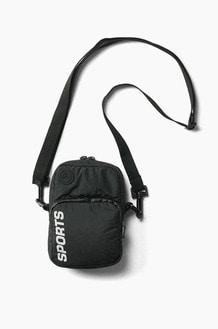 INTERBREED Water Repellent Daily Mini Shoulder Bag Black