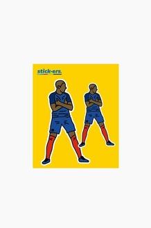 STICK-ERS ACC CLUB Medium 002