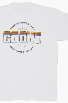 GO OUT Campers Gonna Camp S/S White