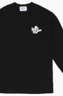 THE FAMOUS BURGER TFB x BALANSA L/S Black
