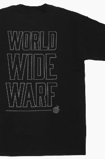 WARF Reflective WWW S/S Black