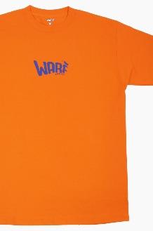 WARF Mfg Puff Logo S/S Orange