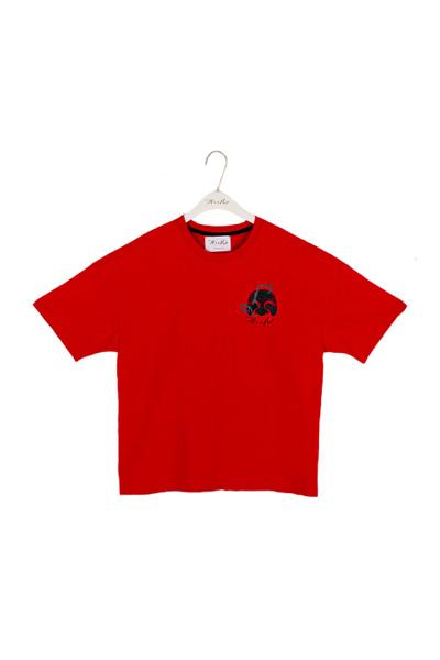 ASH18-01TS아시하 로고 반팔티셔츠(ASIHA LOGO T-Shirts)Red 아시하