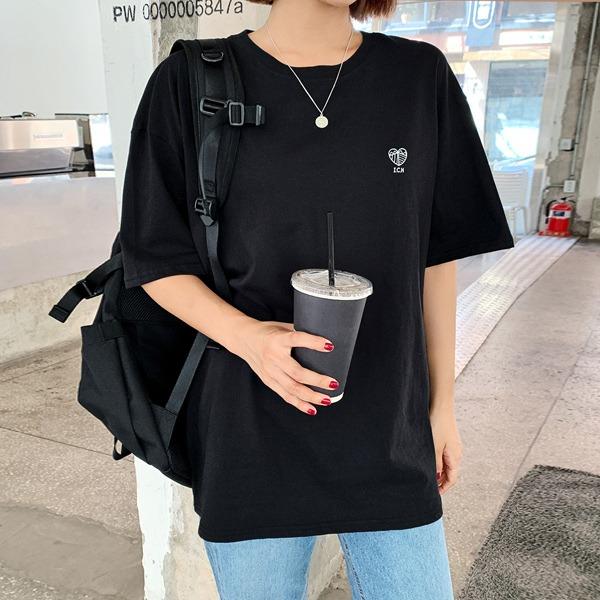[LOVB] I.C.H愛心印花短袖T恤