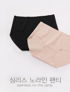 심리스 노라인 팬티(2col)