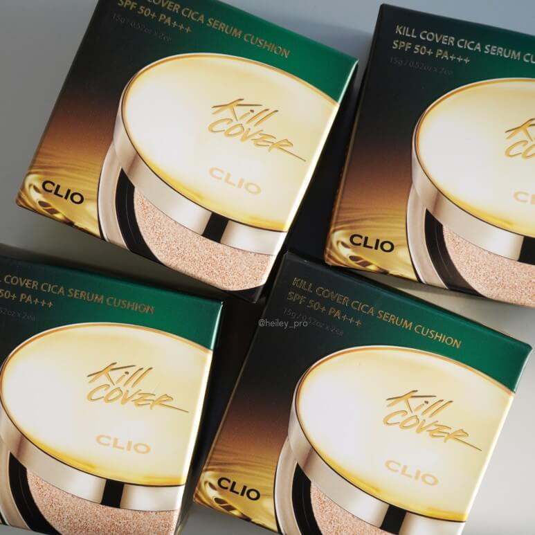 CLIO'S KILL COVER CICA SERUM CUSHION SPECIAL SET REVIEW