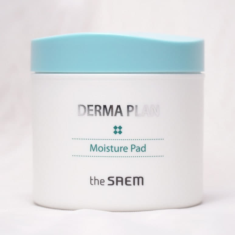 THE SAEM'S DERMA PLAN MOISTURE PAD REVIEW