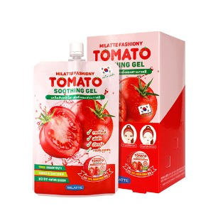 MILATTE Fashiony Tomato Soothing Gel Pouch 50ml X 5ea