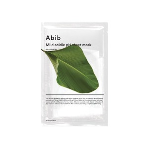 Abib Mild Acidic Ph Sheet Mask Heartleaf Fit 10ea