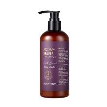 TONYMOLY Aroma Relief Lavender Salt Scrub Body Wash 300ml