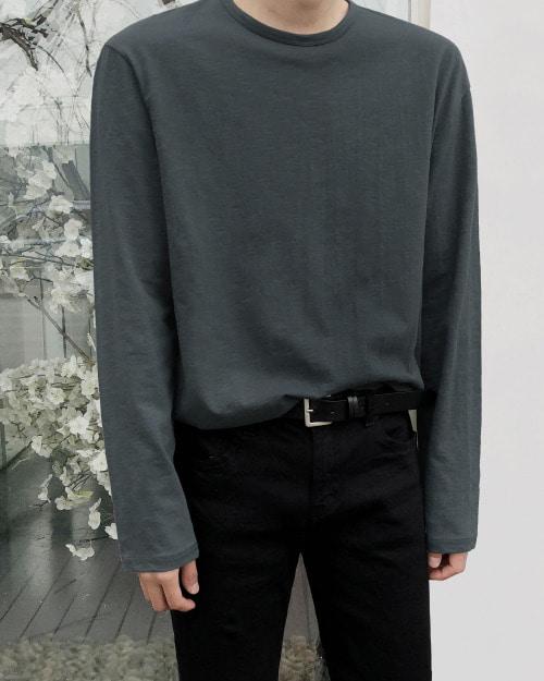 데일리 슬라브 긴팔 티셔츠