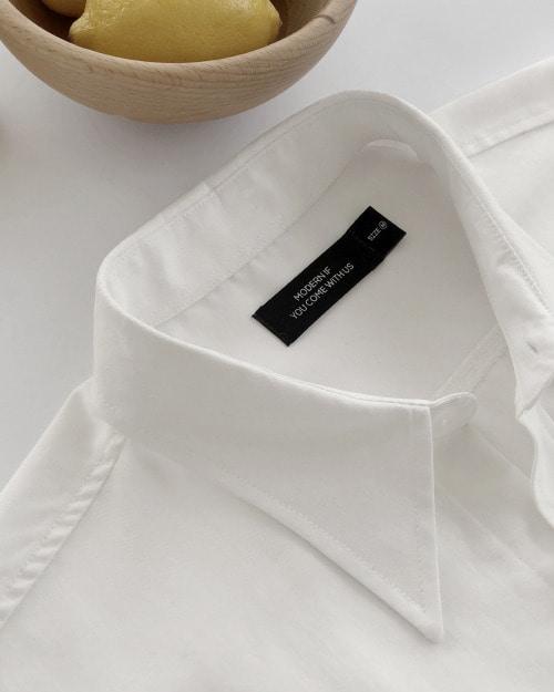 모던이프 텐셀 셔츠