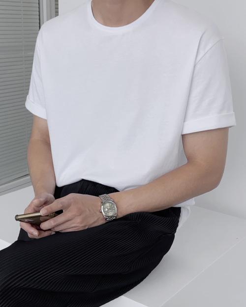 베이직 반팔 티셔츠