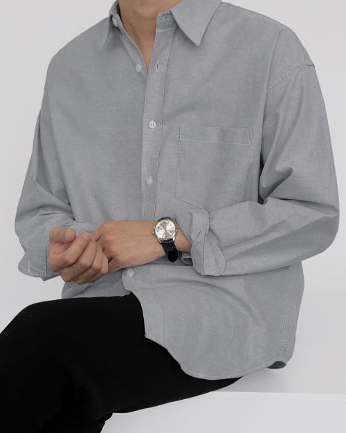 어텀 옥스퍼드 셔츠
