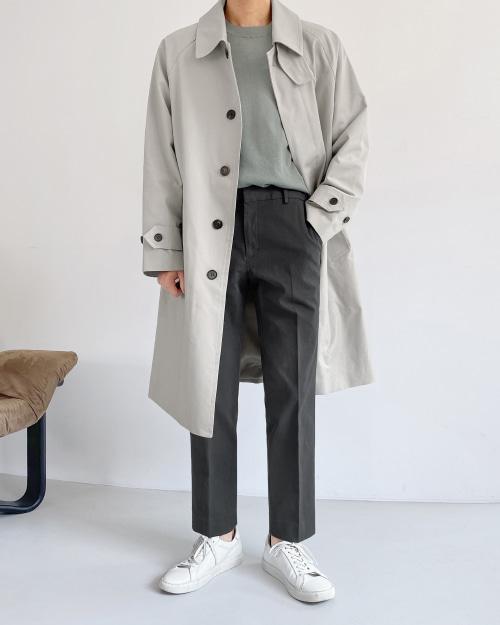 로제 트렌치 코트
