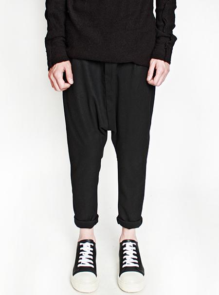 slim baggy pants
